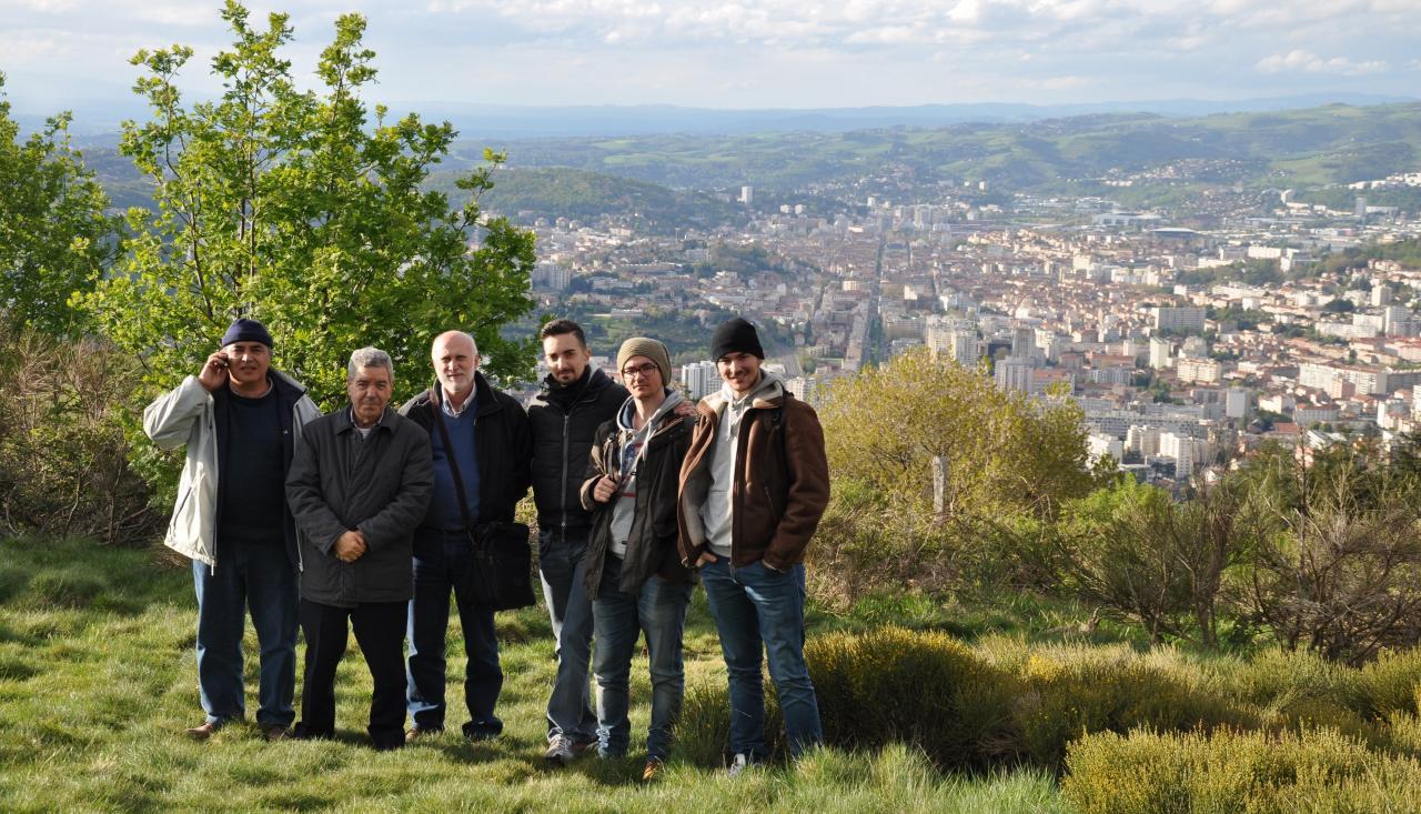 Visite à Saint Etienne